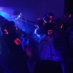 Silent rave in San Telmo