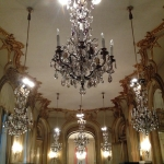 The ballroom at the museum of decorative arts