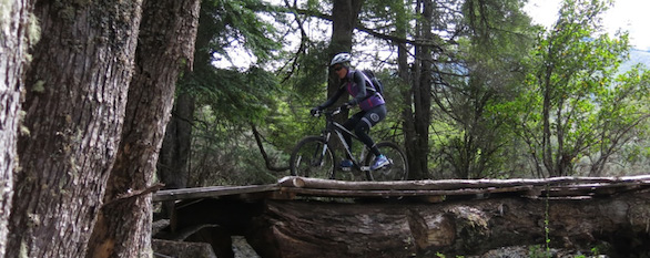 Mountain biking and Rafting in Patagonia