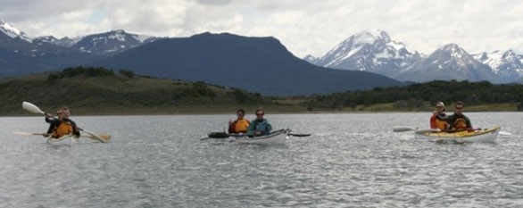 Kayaking in Tierra del Fuego